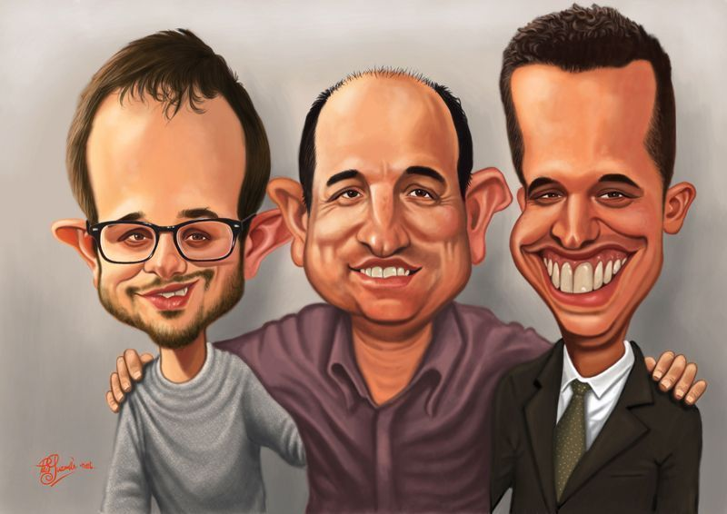 caricaturas digitales